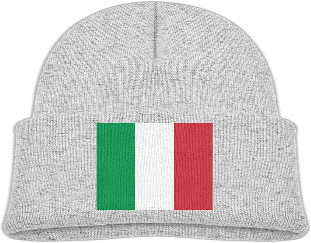 lead-do Baby Boys Girls Italian Flag Kint Beanie Hats Toddler & Kids Winter Warm Kinted Caps(2-6T)