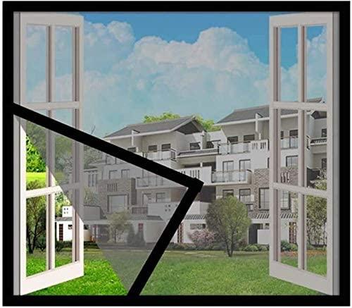 LAMZ Fiberglass Window Screen Mesh Fiberglass Screen Mesh Screen Replacement Mesh DIY Custom Fiberglass Screen Mesh for Windows 0804 (Color : Gray, Size : 180x135cm(71x53inch))