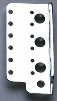 Allparts BP-0611-L10 Left Handed Chrome Bridge Plate