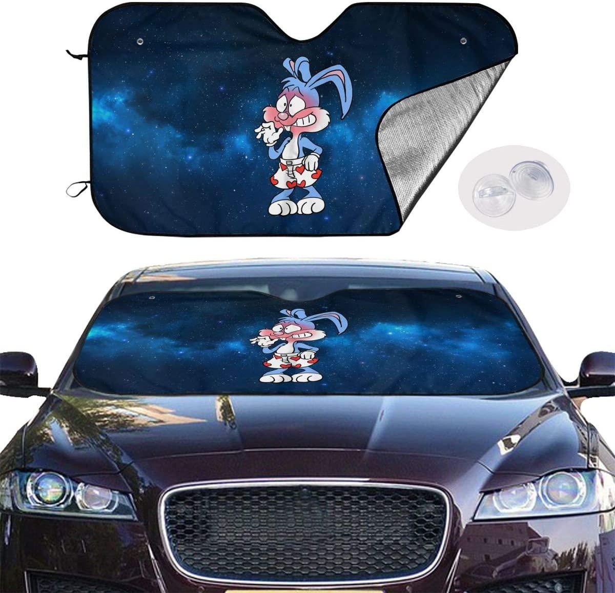 Abkola Bugs Bunny Universal and Stylish Car Windshield Visor