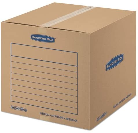 Bankers Box SmoothMove Basic Moving Boxes