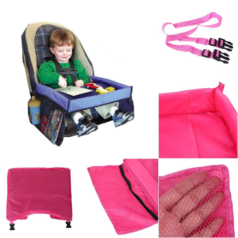 Kana5459 Multifunctional Waterproof Kids Car Seat Travel Play Child Drink Snack Toy Holder Pocket