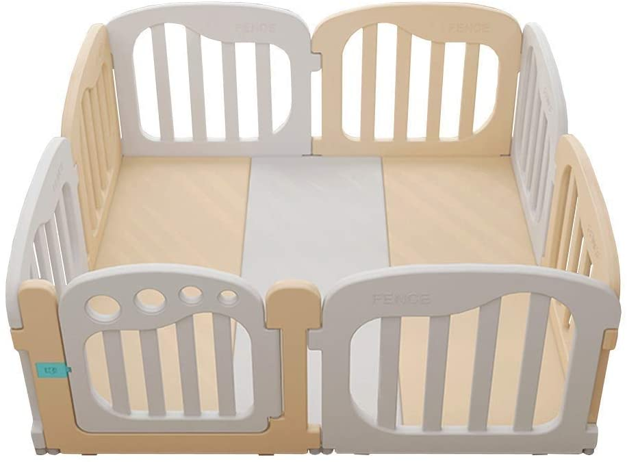 HWZQHJY Baby Playpen Activity Center for Babies Kids Safety Play Yard Baby Fence with Multicolor Size is 15215265cm (Color : #3)