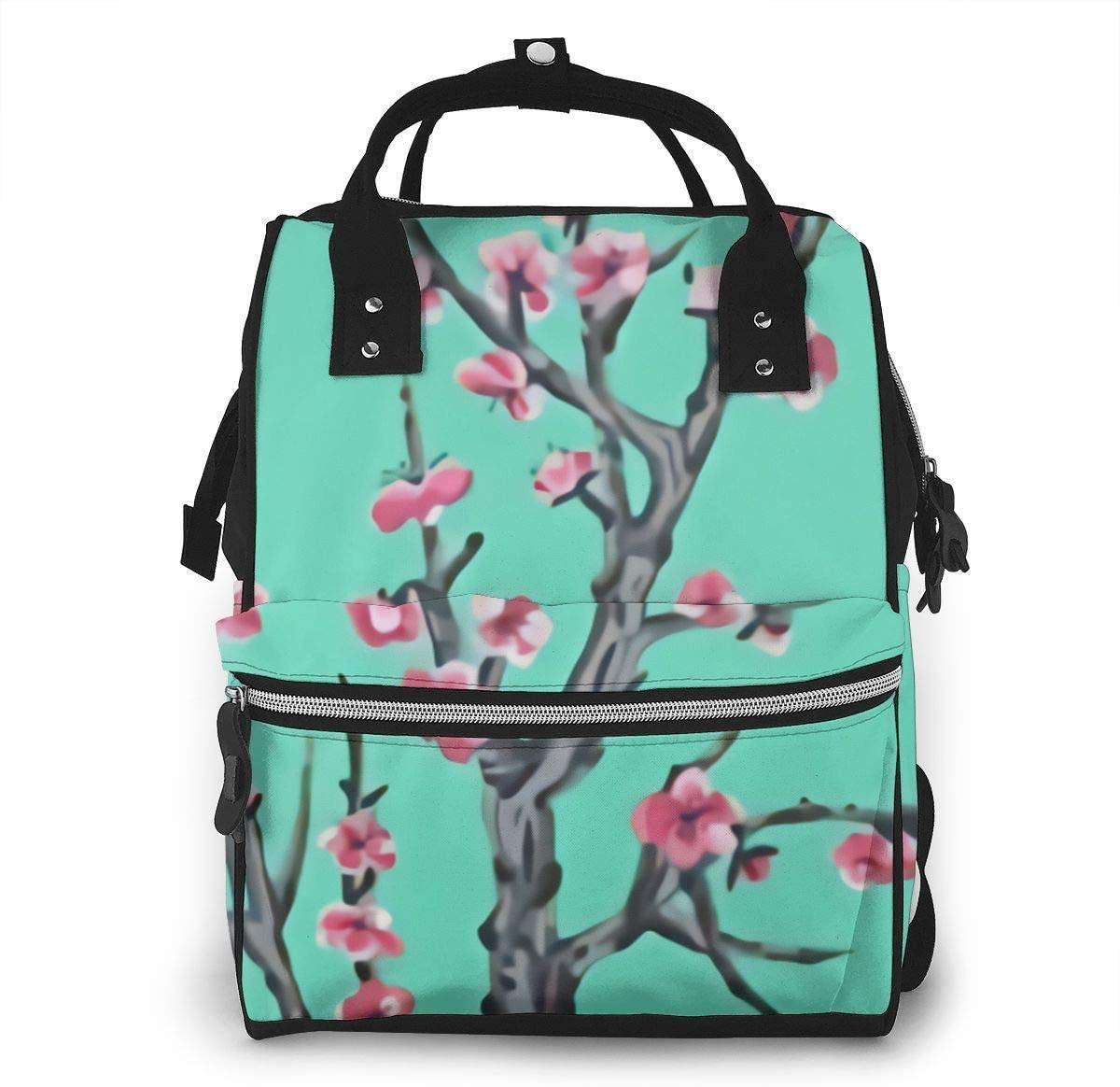 5husihai Arizona Ice Tea Multifunctional Waterproof Travel Backpack Baby Mummy Backpack