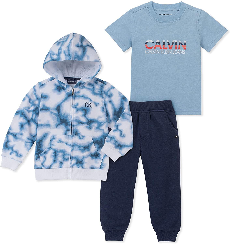 Calvin Klein Baby 3 Pieces Jog Set Pants