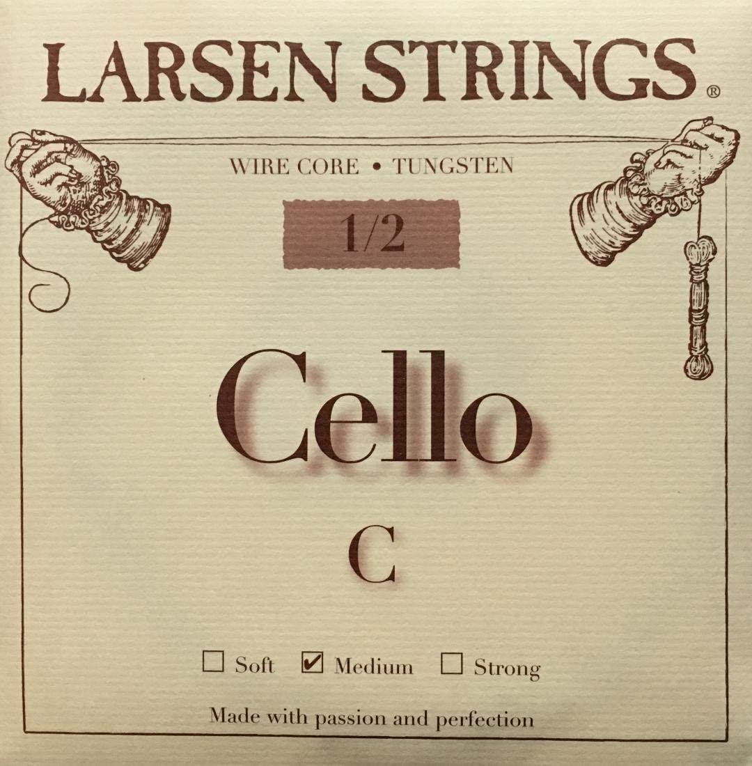 Larsen Cello C String Wire Core 1/2 Size Medium