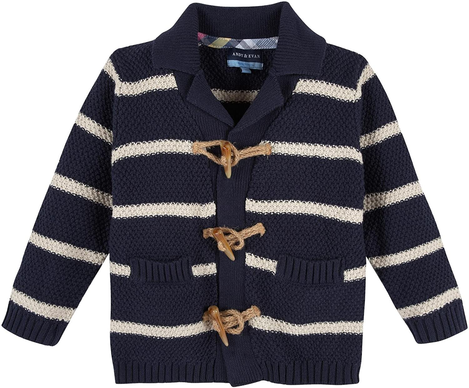 Andy & Evan Baby Boys' Striped Cardigan-Infant