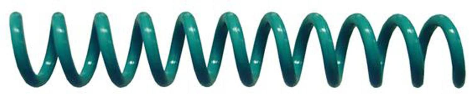 Spiral Coil Binding Spines 9mm (11/32 x 12) 4:1 [pk of 100] Light Teal (PMS 321 C)