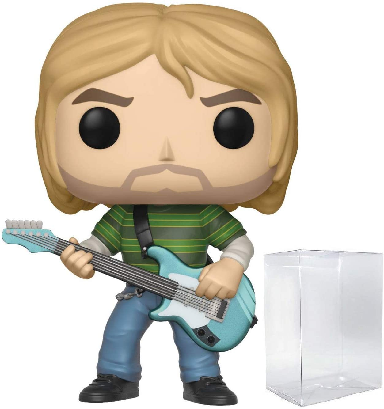 Funko Rocks: Nirvana - Kurt Cobain (Teen Spirit) Pop! Vinyl Figure (Includes Compatible Box Protector Case)