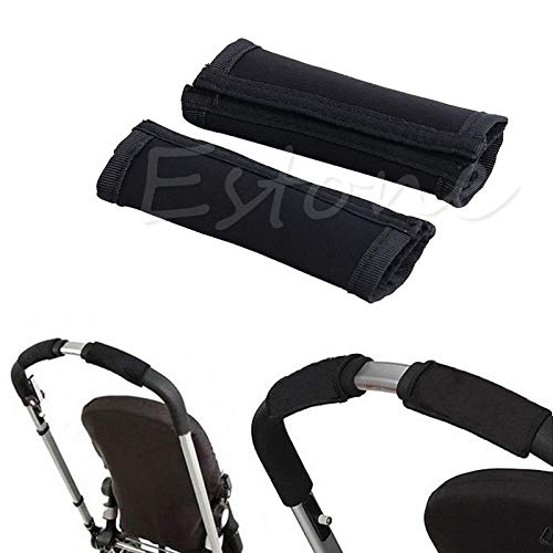 Replacement Parts/Accessories Compatible with Evolur Strollers Products for Babies, Toddlers, and Children (Handlebar Cover Grips)
