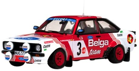 Ford Escort RS1800 #3 R.Droogmans/R.Joosten Bianchi Rally 1982 1/18 Limited Edition. Only 1599pc Produced Worldwide by Sunstar 4457