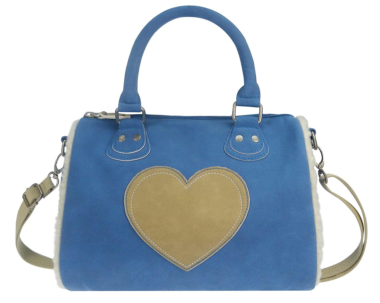 BFF 420-7007-1 Kids Lammy Love Shoulder Bag 20 x 29 x 17 cm Blue