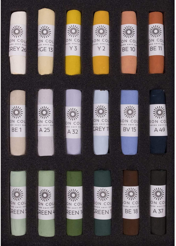 Unison Landscape 18 Pastel Set [Toy]