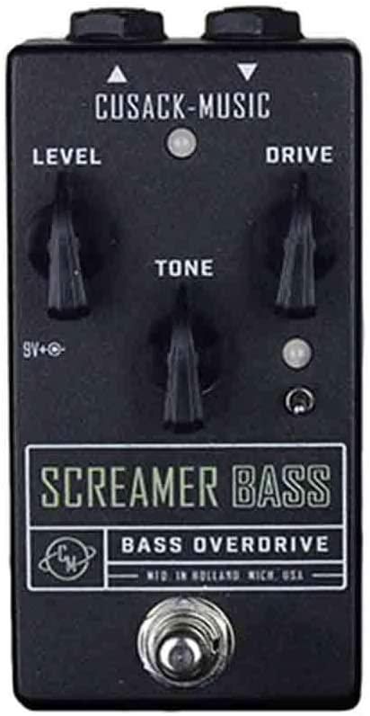 Cusack Music Screamer Bass Overdrive