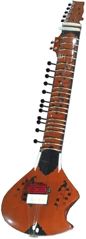 Indian Sitar Quad Rail Pickup Acoustic Electric Cedar Peacock Cutaway Custom Instrument