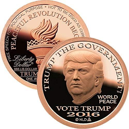 Jig Pro Shop Trump Dollar Series 1 oz .999 Pure Copper Round/Challenge Coin