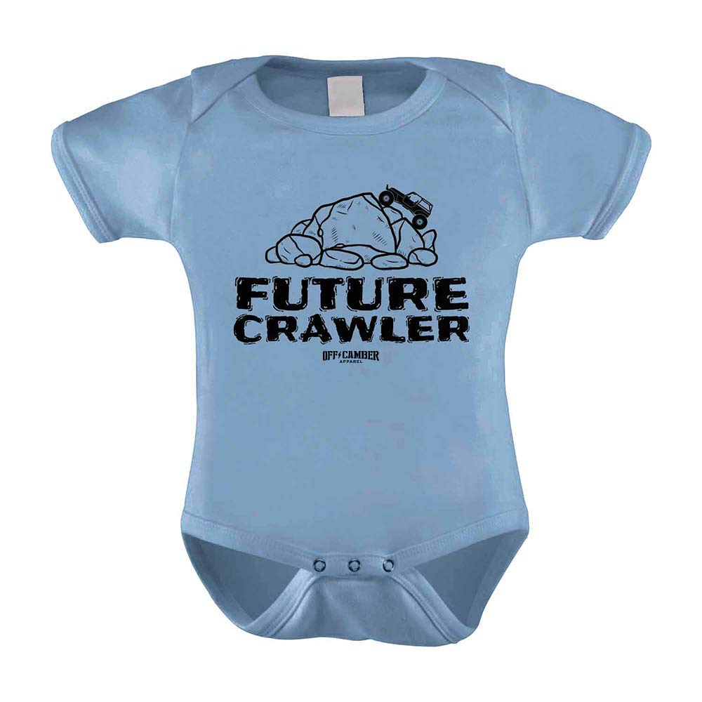 Infant Future Crawler Onesie offroad 4x4 outfit 6 Month Light Blue