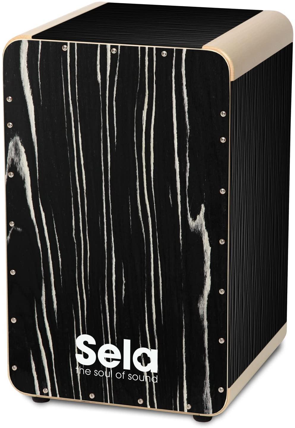 Sela SE 024 Wave Black Makassar Professional Snare Cajon