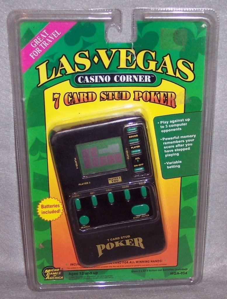 Las Vegas Casino Corner 7 Card Stud Poker