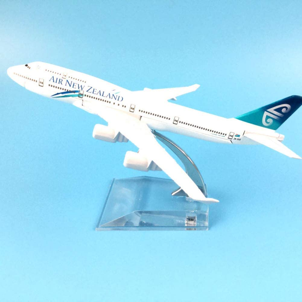 Marreto 16Cm Alloy Metal Air New Zealand Airlines Airplane Model Boeing 747 B747 400 Airways Plane Model W Stand Aircraft Gift Kids Toys
