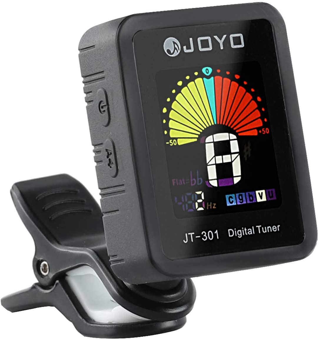 Guitar Tuner Digital Tuner Clip Mic for Chromatic Guitar Bass Ukulele Violin with Clip 360 Degree Rotation and colorful screen (Normal Tuner)