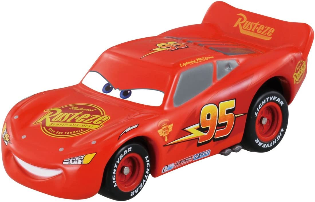 Tomica Cars Lightning McQueen (Cars 2 opening type)