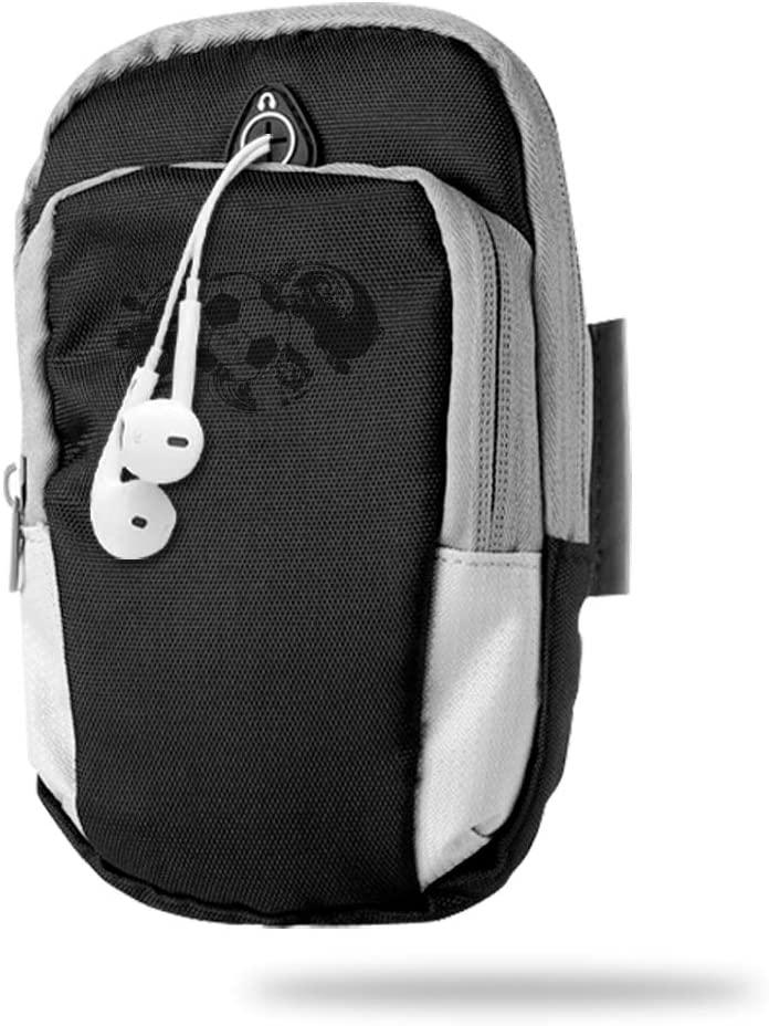 Sports Arm Bag Free Gym Phone Armbands Cell Phone Arm Holder Black Soccer Pouch Case with Earphone Hole for Running for Men Mini Shoulder Bag Travel Women Kids Handbag