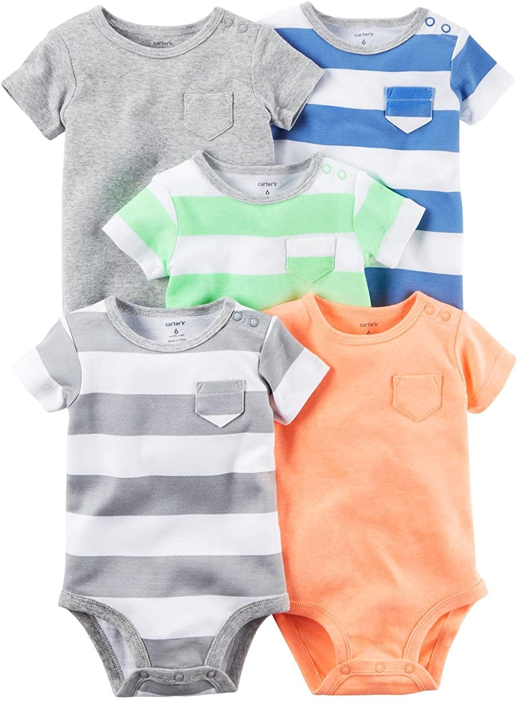 Carter's Baby Boys' Multi-pk Bodysuits 126g626