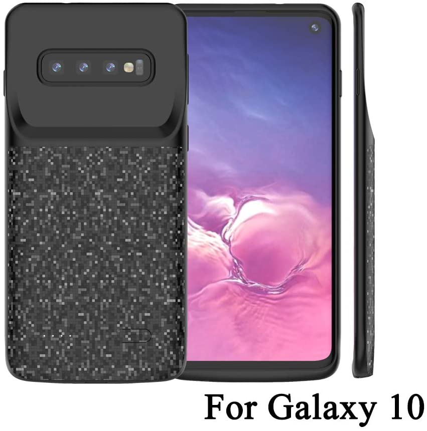 Idealforce Samsung Galaxy S10 Battery Charger Case,4700mAh External Power Bank Cover Portable Charger Protective Charging Case for Samsung Galaxy S10