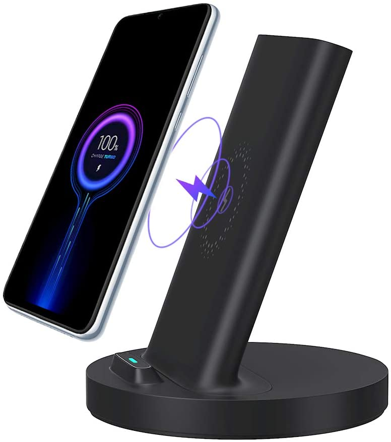 Xiaomi Wireless Charger, Fast Charging Qi-Certified 20W Charging Station Compatible with iPhone Samsung(No AC Adapter)