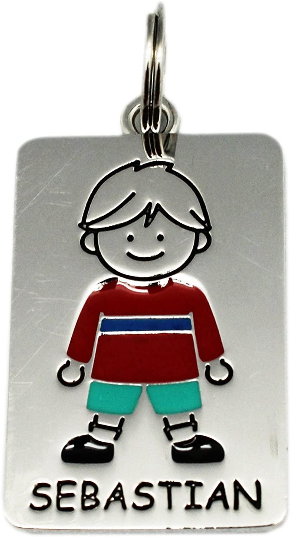 Ganz Kids Tag Charms - My Kids Keyring and Necklace - SEBASTIAN