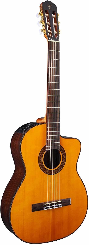 Takamine GC5CE-NAT Acoustic Electric Classical Cutaway Guitar,Natural