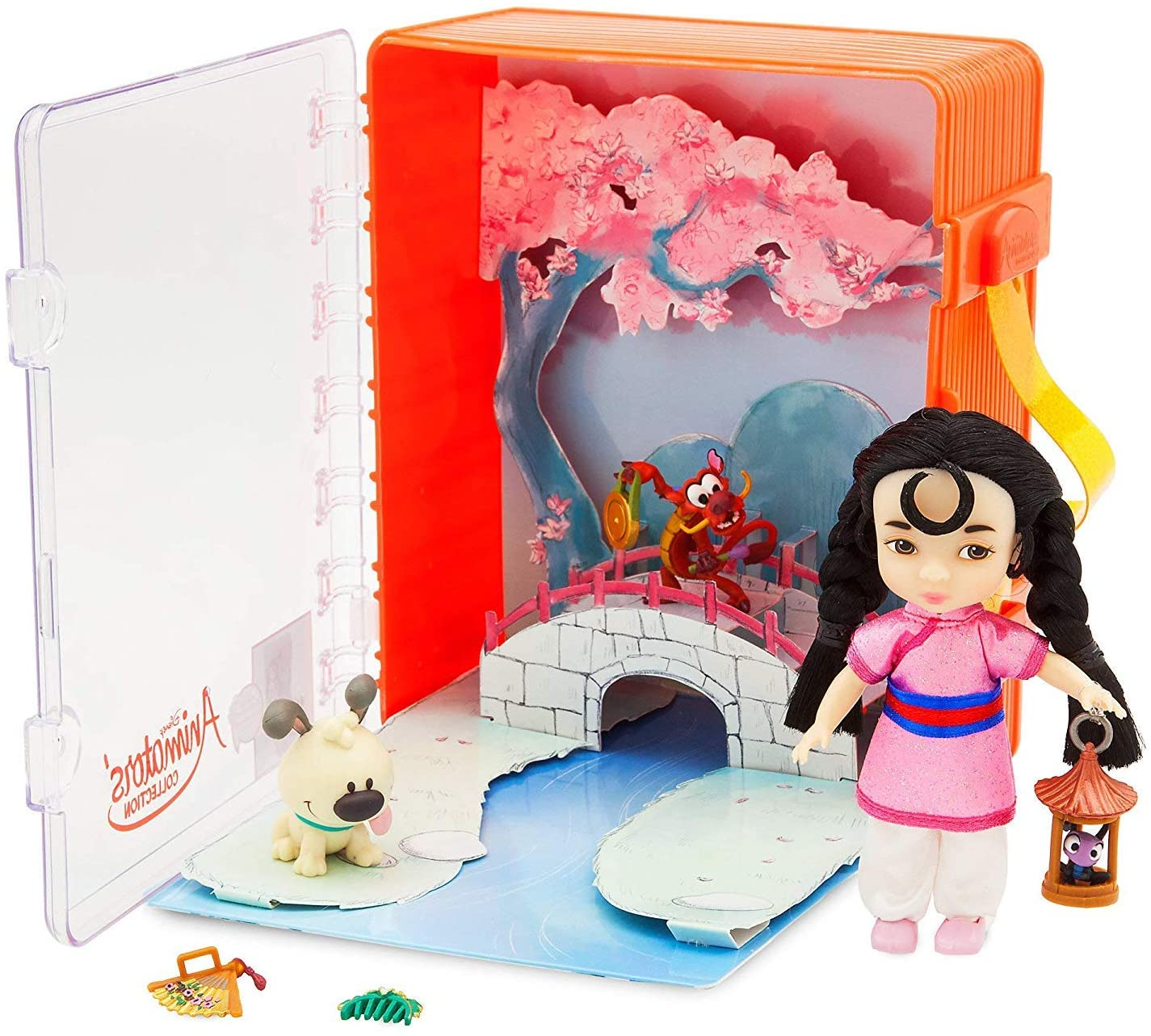 Disney Animators' Collection - Mulan (Includes Mushu, CRI-Kee, Little Brother and Accessories)