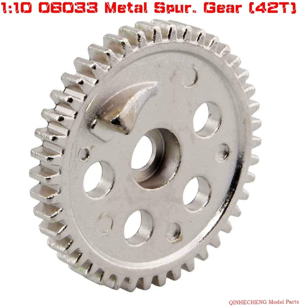 Parts & Accessories RC 06033 Metal Spur. Gear (42T) for HSP 1:10 Nitro Off-Road Buggy