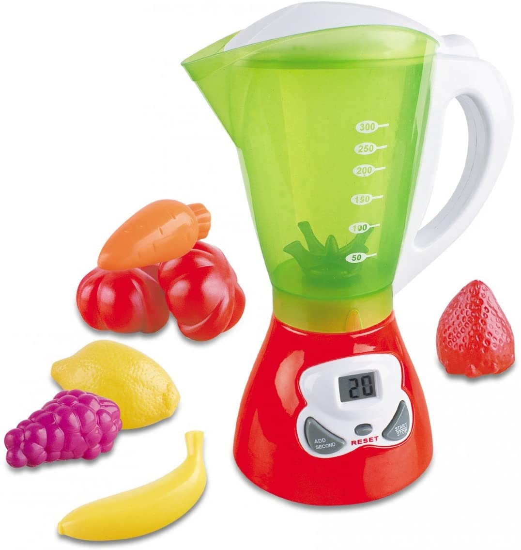 Liberty Imports My First Kitchen Appliances Toy - Kids Pretend Play Gourmet Cooking Set with Lights and Sounds (Juice Blender)
