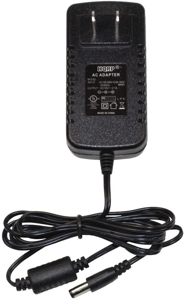 HQRP AC Adapter / Power Supply compatible with Kurzweil SP76 / SP88 / SP88x / XM1 Digital Piano Replacement [UL Listed] plus Euro Plug Adapter