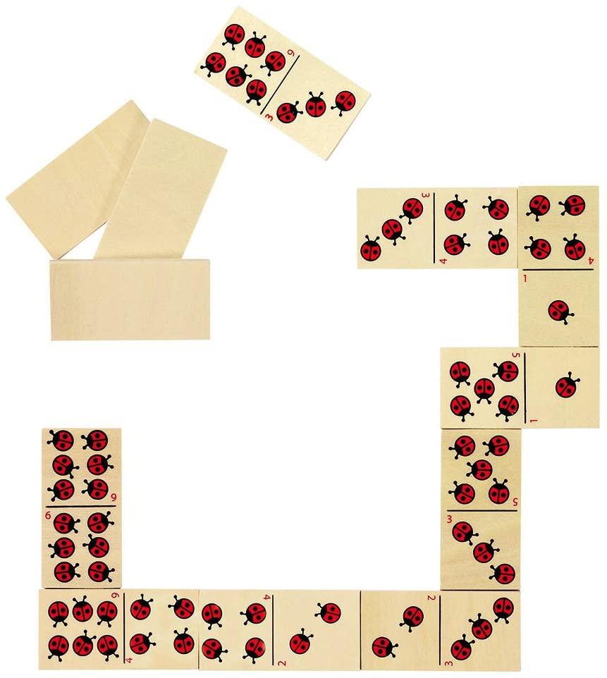 Domino Ladybird Game