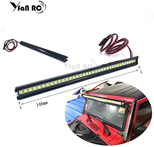Parts & Accessories 1/10 RC Car 36 LED Light Bar 36 LEDs for TRX-4 Trx4 Axial SCX10 90046 D90 RC Rock Crawler Truck Body Shell Roof Lights yfan rc