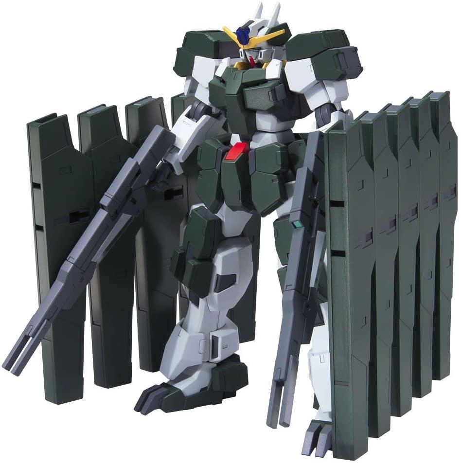 Bandai Hobby #67 Gundam Zabanya HG 00 Action Figure, Black and Silver (BAN164562)