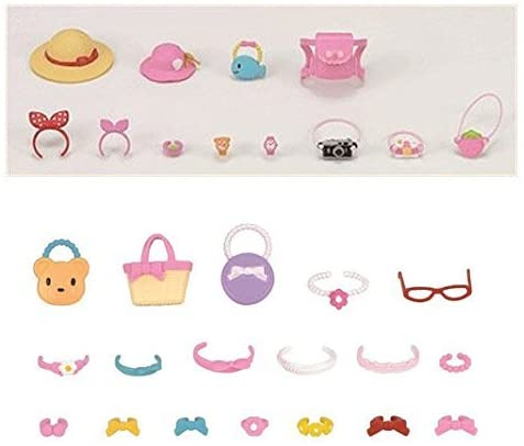 Best Japan Shopping - 2 Different Sets - Beauty Theme - Stylish and Outing Accessory Sets (Japan Import)