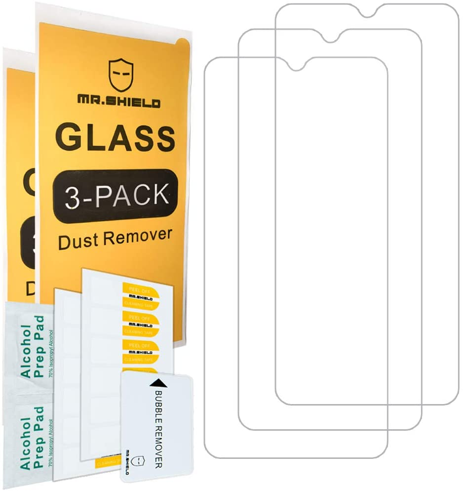 [3-Pack]-Mr.Shield for Motorola Moto E (2020) [Tempered Glass] [Japan Glass with 9H Hardness] Screen Protector with Lifetime Replacement