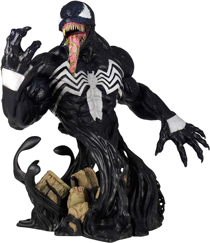 DIAMOND SELECT TOYS Marvel Venom 1:7 Scale Bust, Multicolor, 6 inches