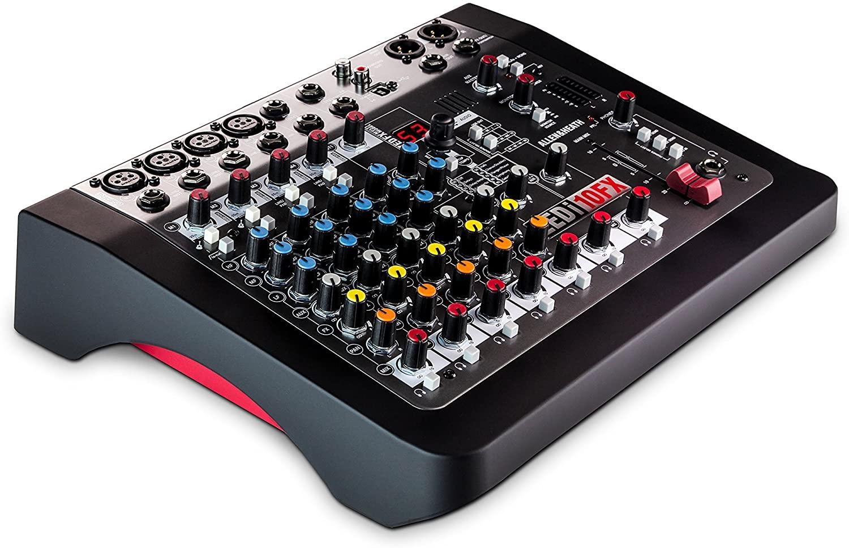 Allen & Heath ZEDi-10FX Hybrid Compact Mixer/4x4 USB Interface with FX