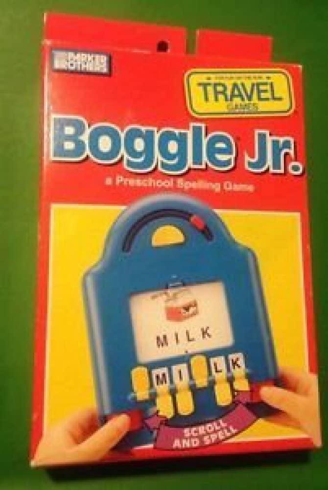 Boggle Jr Preschool Spelling Game Travel Game