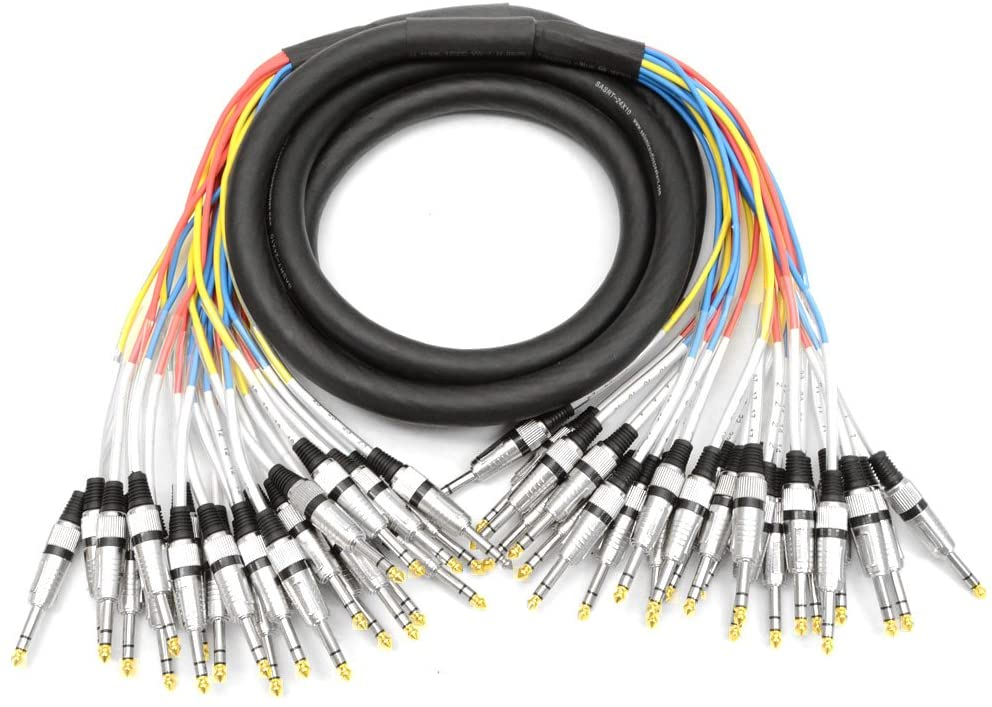 Seismic Audio - SASRT-24x10 - 24 Channel 1/4