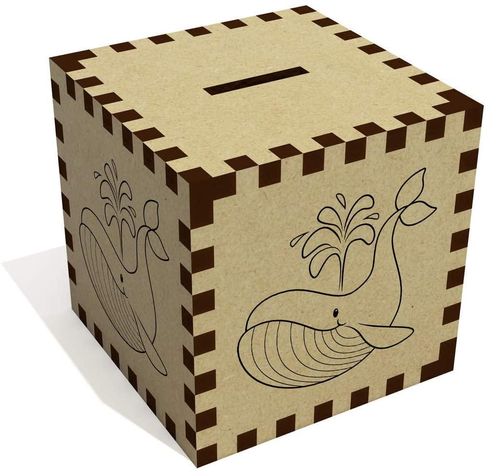 Azeeda 'Whale' Money Box / Piggy Bank (MB00072555)