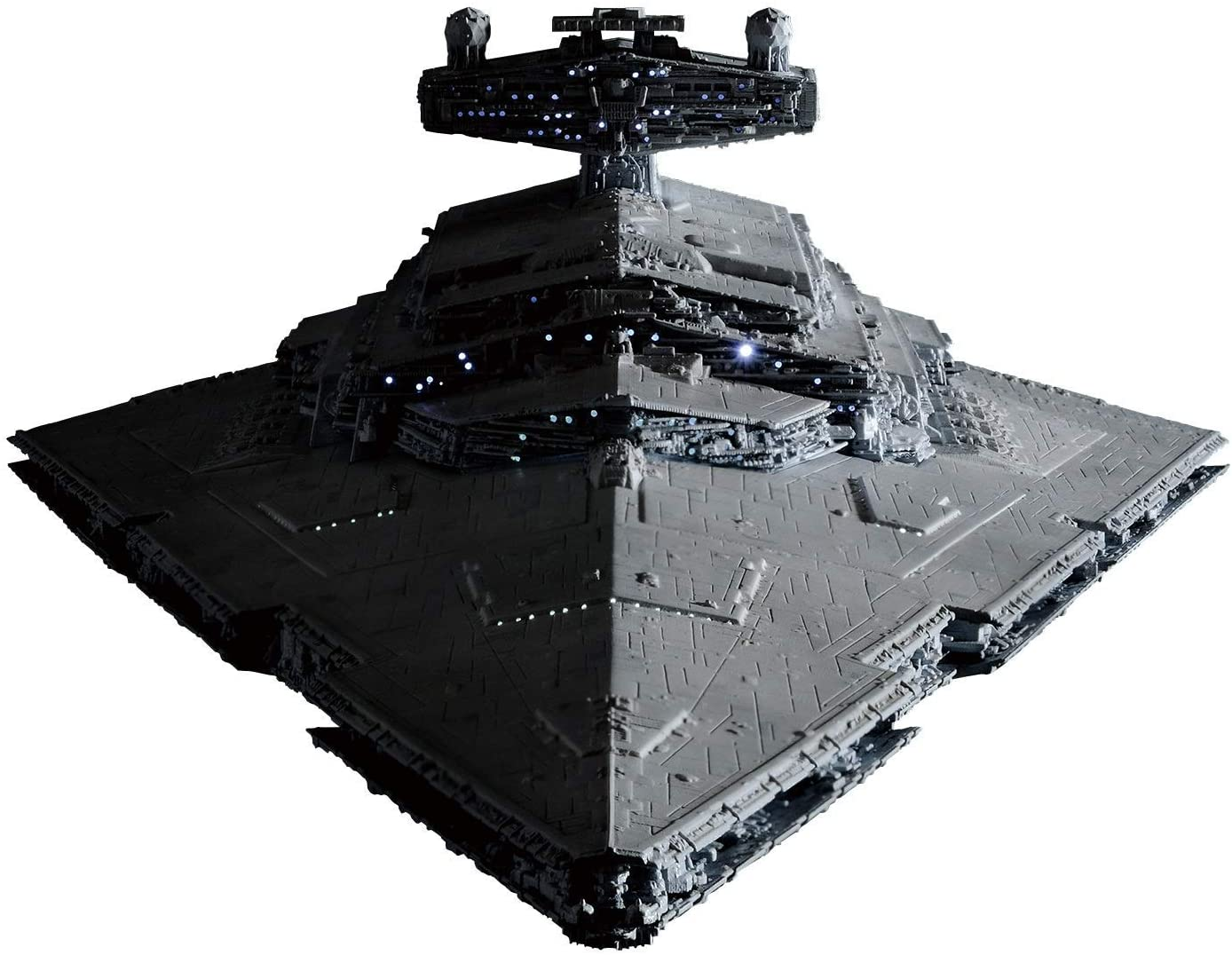 Bandai Spirits Hobby Star Wars 1/5000 Star Destroyer (Lighting Model) Limited Ver. Star Wars, Grey, Model:-