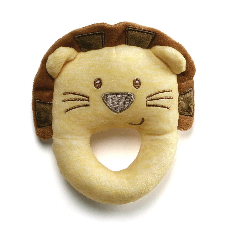 Baby GUND Playful Pals Lion Stuffed Animal Plush Rattle Toy