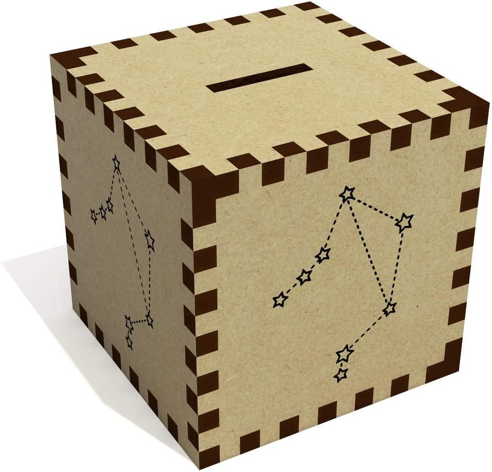 Azeeda 'Libra Stars' Money Box / Piggy Bank (MB00057587)