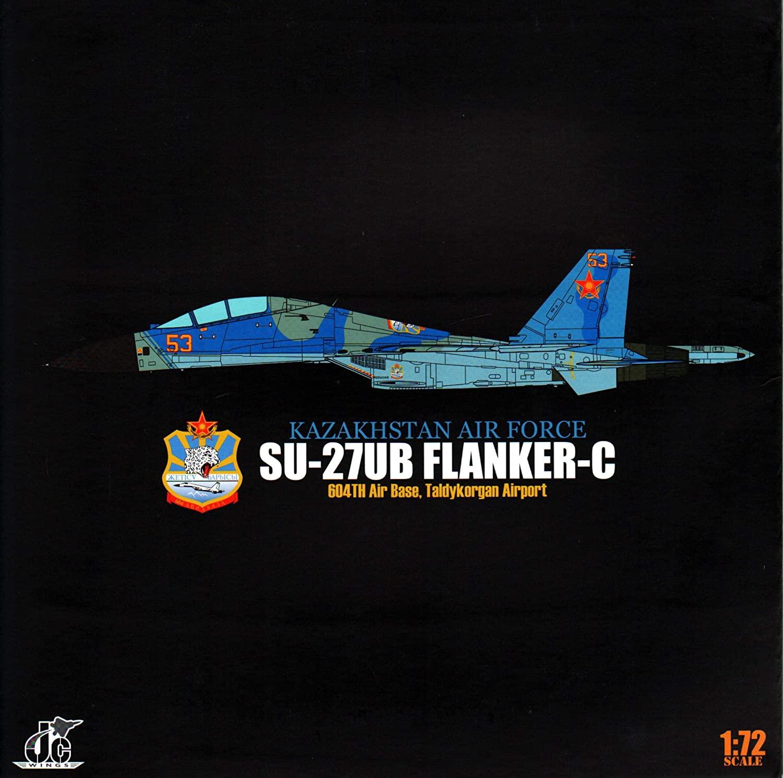 JCW72SU27004 1:72 JC Wings Military Su-27UB Flanker-C Kazakhstan Air Force (pre-painted/pre-built)